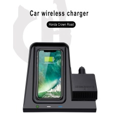 Smart Sensor Car Wireless Charger 15W 10W 5W Mount Smart Automatic Wireless For Crown Road/UR-V Car Charger