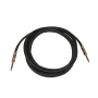 Accept customization Black jacket bulk guitar cable OFC OD 6MM instrument cable guitar