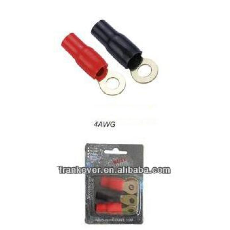 4AWG cable terminal Copper Terminal for Electronics Small Brass Wire connector