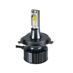 New Product Tri-color Bright Led Headlights Mini Auto H4 Projector Headlight Led