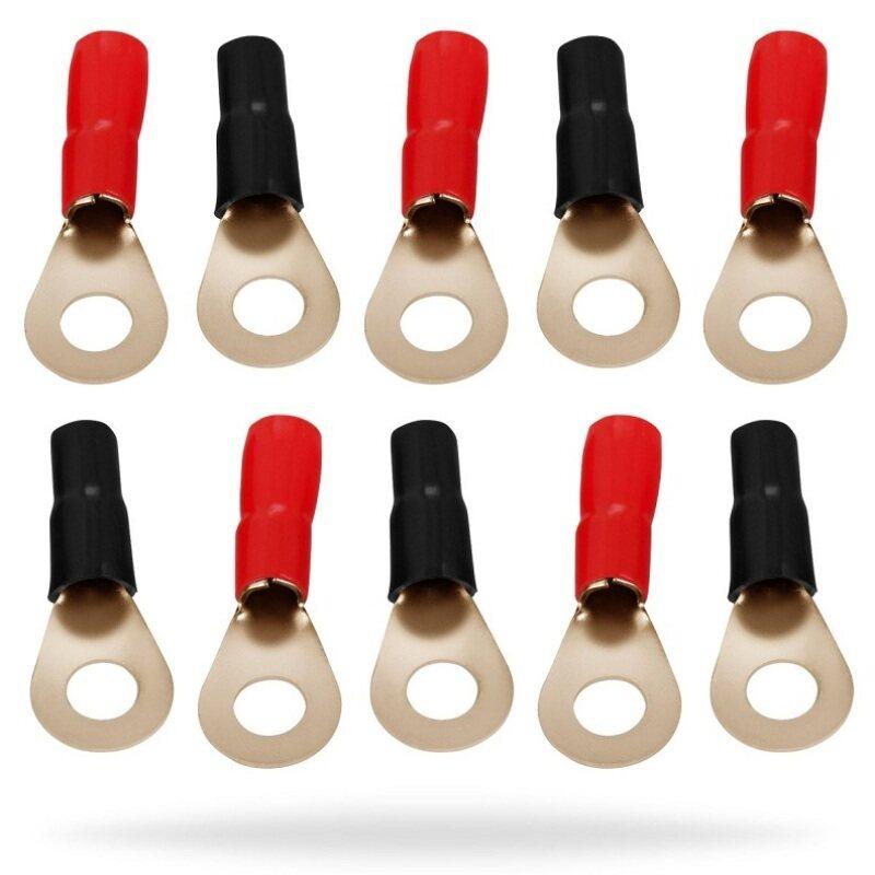 1/0 gauge 4 gauge 8 gauge ring terminal crimp ring terminal for car battery