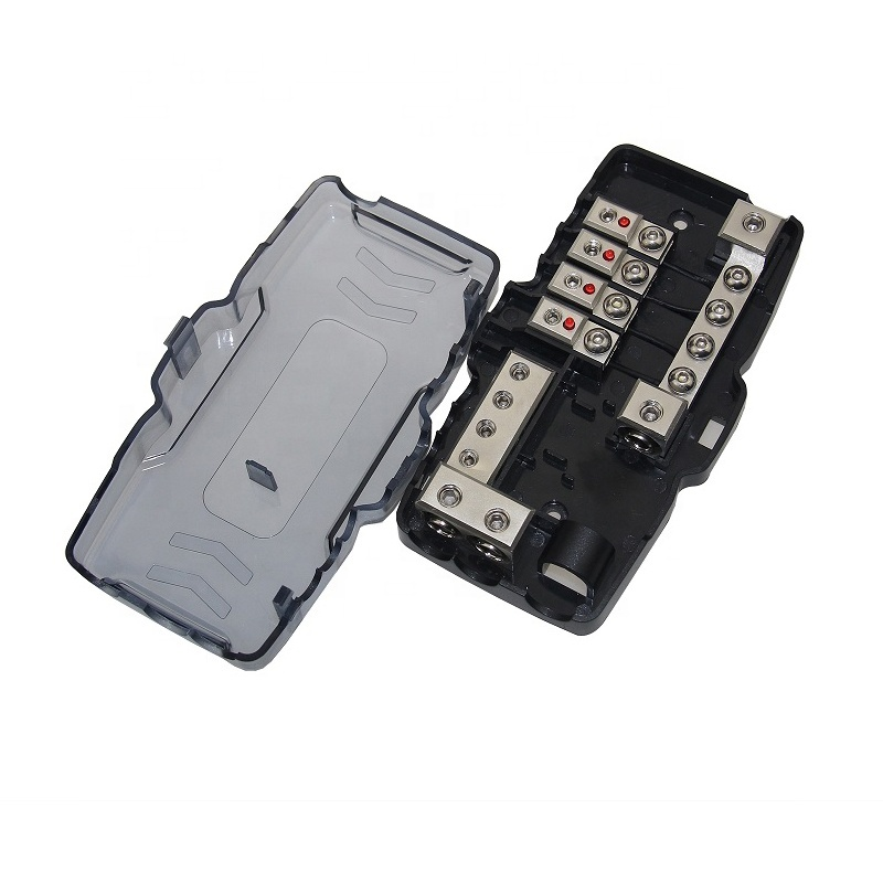 Competition Grade AFS Fuse Holders 0/4 AWG Input 4/8 AWG Output