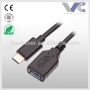 Type-C3.0 to USB 3.0 A Female Cable Type-C 3.0 Adapter Extension Cable 5G/s Transmission Speed