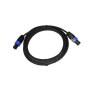 flexible professional copper 2 core OD 7mm cspeakon cable