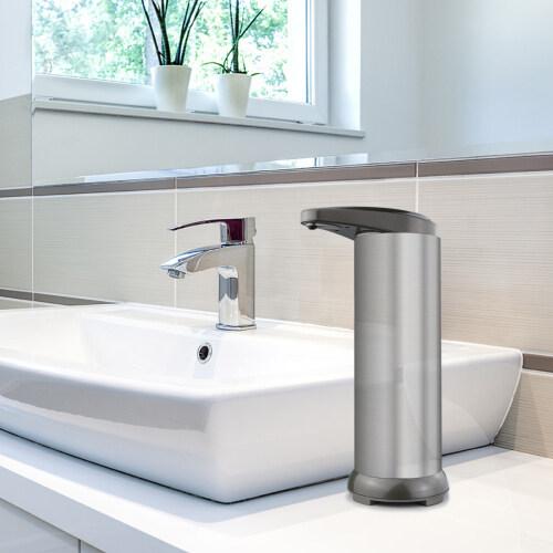 Touch-Free Stainless Steel Sensor Liquid Soap Dispenser Automatic Hand Sanitizer Dispenser