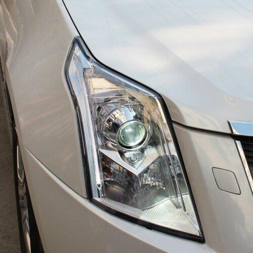 Apply to car bumper headlight  for 10-15 Model Cadillac headlight car accessories LED bulbs headlamp Headlight assembly