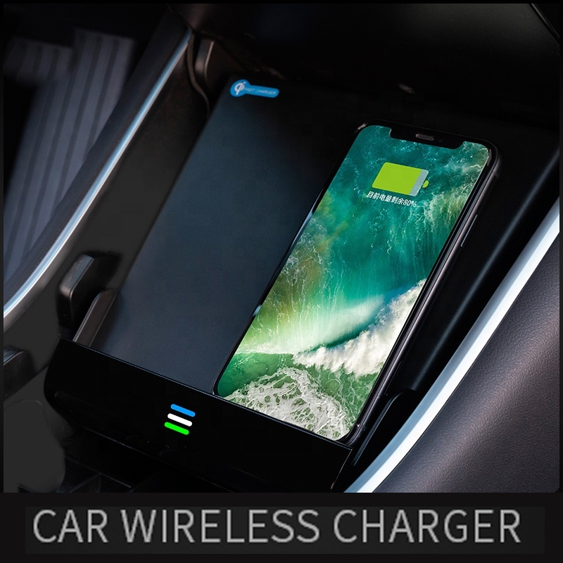 2020 Hot sales qi special car wireless fast charger for Tesla(Model 3),Wireless Car Charger Mount