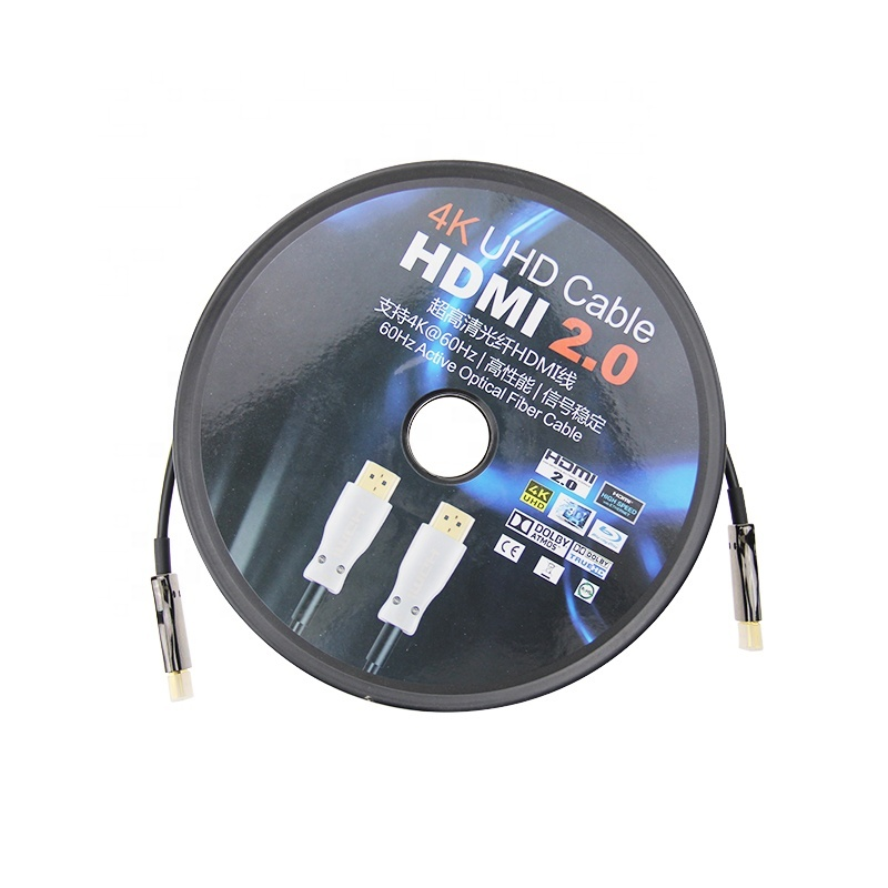 4K UHD Cable HDMI 2.0 60HZ Active Optical Fiber Cable