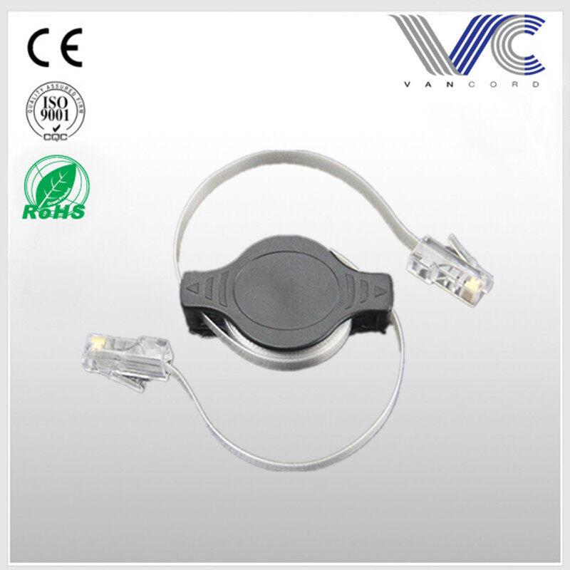 1.5M Telescopic Extension Cord \ Retractable Cable RJ45 UTP CAT6 network cable