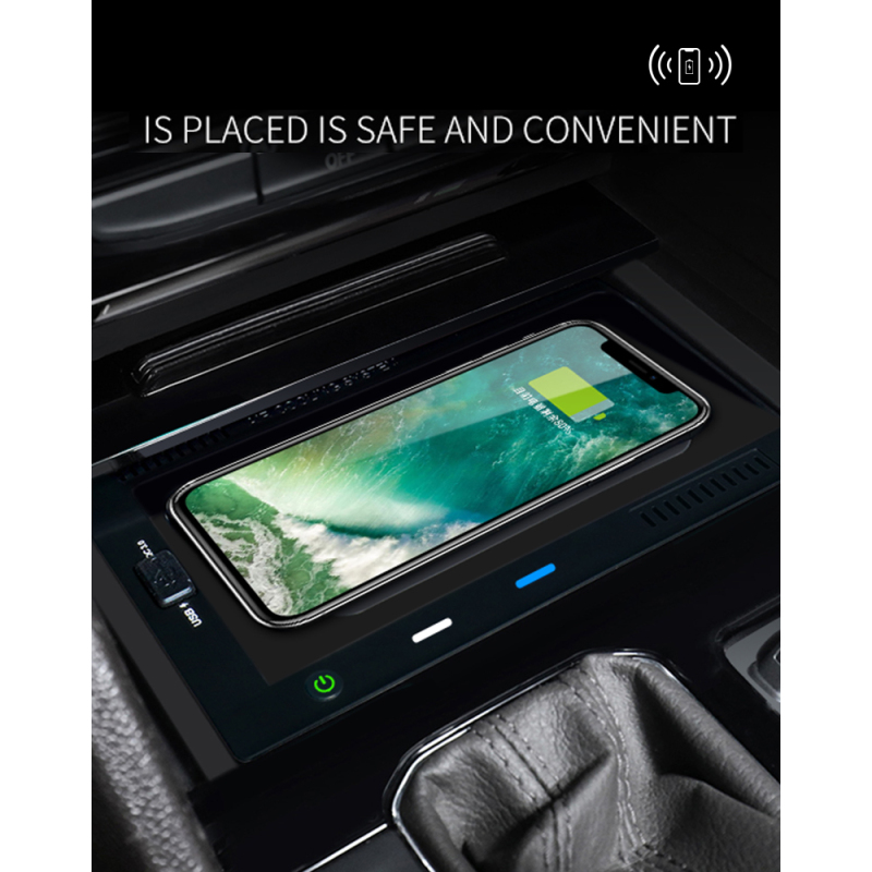 Fast qi special vehicle-mounted car wireless charger for Tuang/Tuang X/Wei Ran (2018-2020)