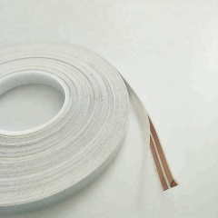 HXFL20505WS flat cable 2 core copper conductor slim electrical cabler cable 16mm can stick on the wall