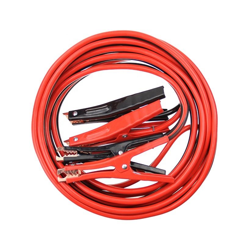 2019 Heavy Duty Booster Cable 4 Gauge 25Ft in zipper plastic bag