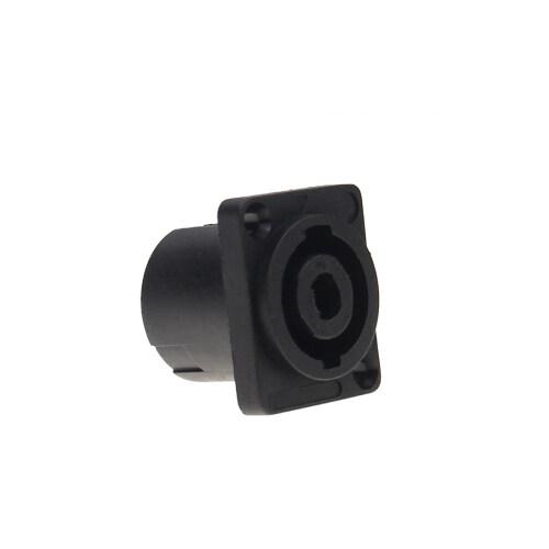 Plastic speaker audio plug speakon audio cable connector socket