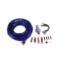 OFC/CCA Double Blister Package 4AWG Car Amplifier cable wiring kit