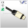 Frankever colour AL metal shell assembly male to male Display port cable DP cable