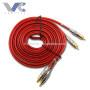 2R-2R RCA Cable 3.8mm 2R to 2R Male to Male Red Cable