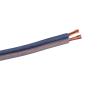 High end 2 cores blue 12AWG auto car speaker cable data cable