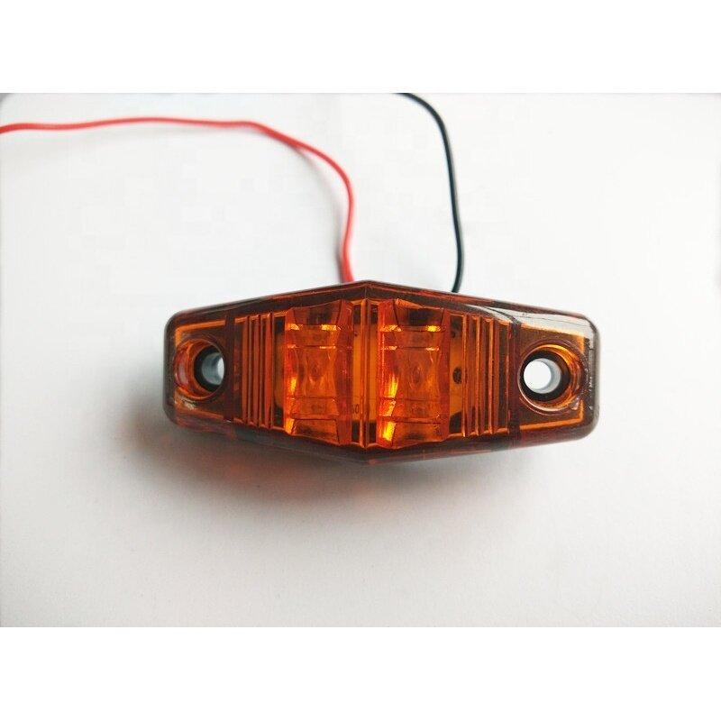 12V/24V 2LED Piranha Truck/Pickup/Trailer Side Marker Lamp/Light
