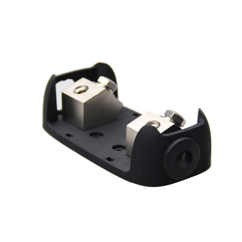 Zinc alloy and PC 30A 250A automotive mini auto fuse holder car audio anl afs fuse holder