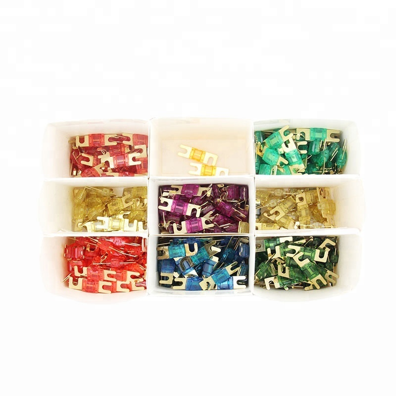 Colorful AFS fuse high quality 250A yellow plated gold fuse