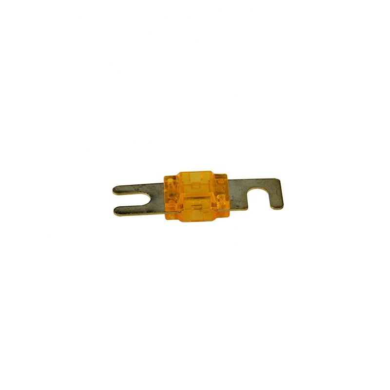 Brass car fuse AFS100 100 Amp golden-Plated AFS Fuses with Color Coded Casing