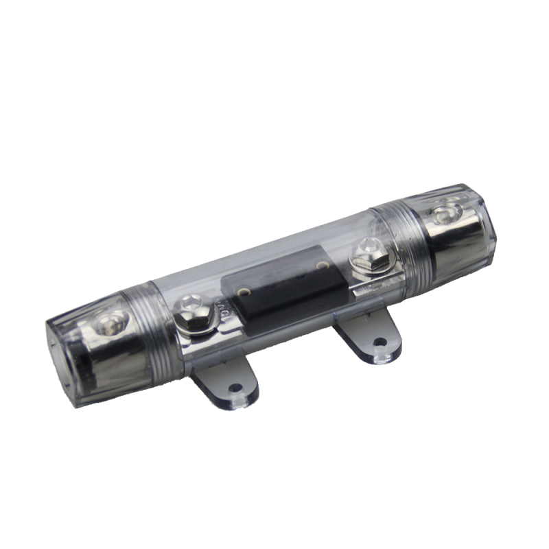 High quality Transparent Protective Cover Single ANL In-Line Fuse holder