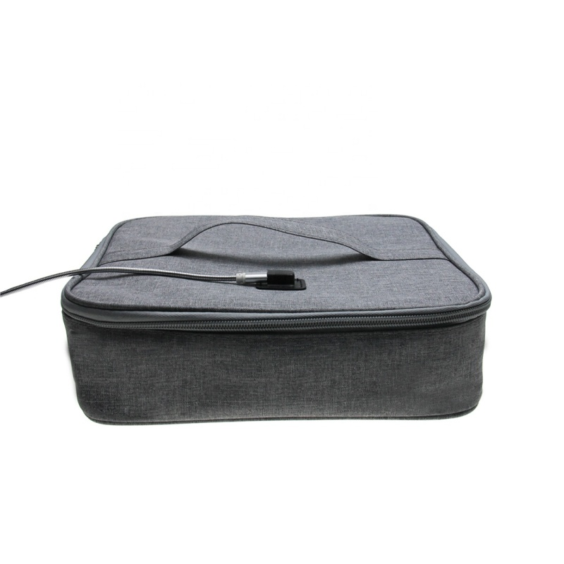 USB Charged Portable Germicidal Ultraviolet Outdoor Travel LED UV Sterilizing Disinfection Bag