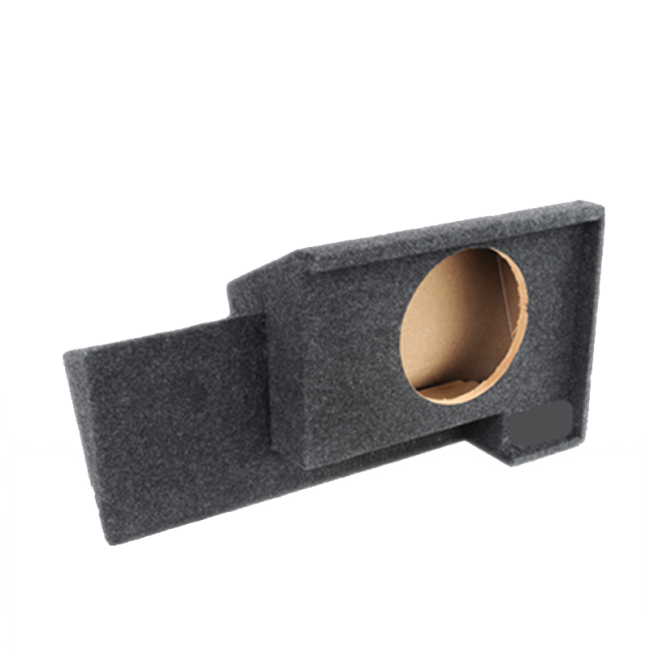 Carpet Spray Liner 10-Inch Single Downfire Subwoofer speaker Box for 1988-1998 GM Extended Cabs