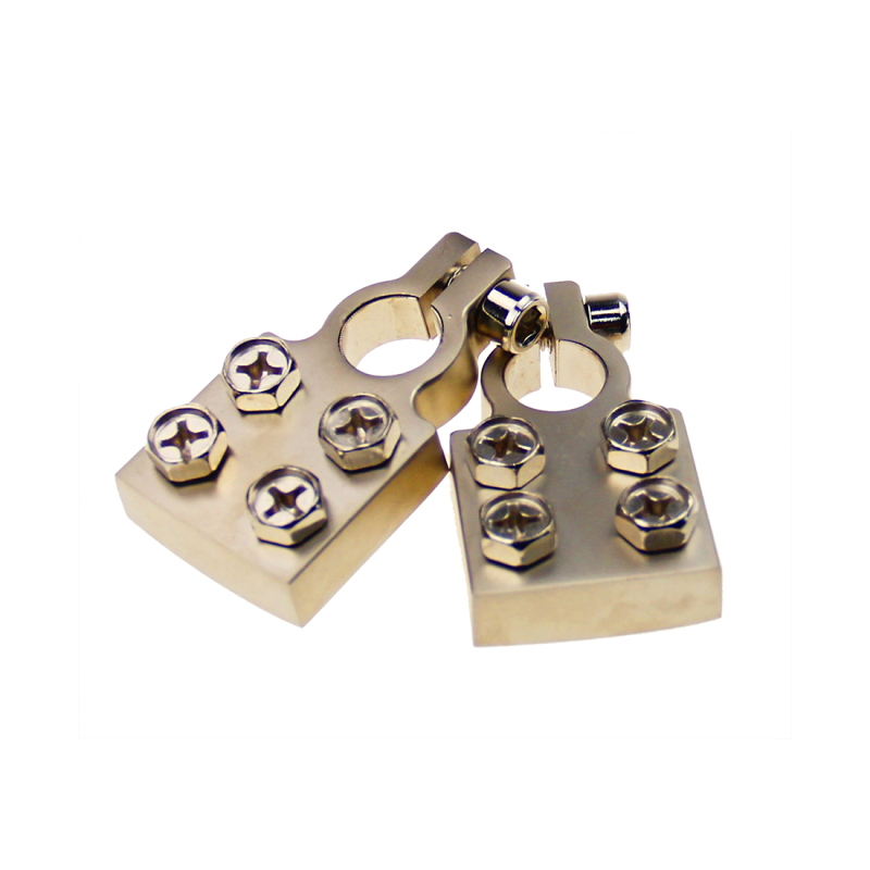 Nickel Plated Car Auto Parts Electrical Connections Battery Terminal