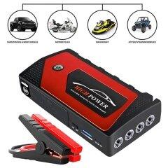 High quality super mini LED illumination light car battery jump starter for dead battery