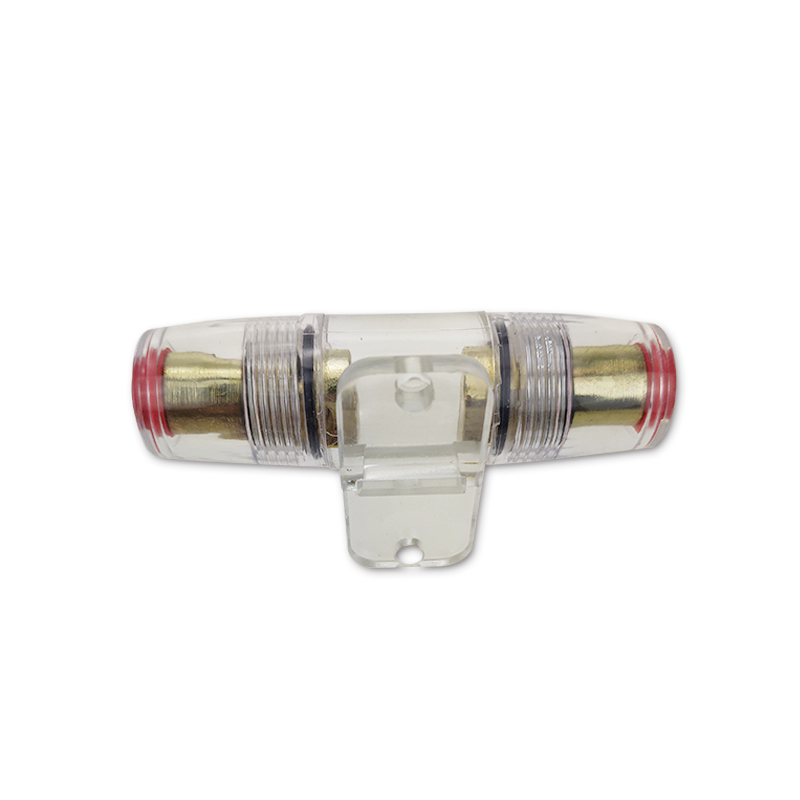 Circle AGU fuse holder gold plated  high quality