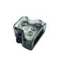 1*0GA IN-3*4GA OUT Amp Power Distribution Block Car Audio Splitter 3 Way Outputs Power Distributor Block Fuse Holder