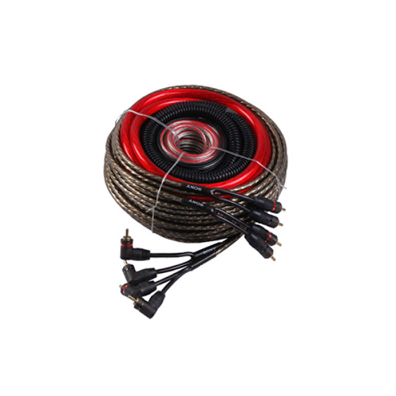 4 gagaue diy rca cable with ground wire