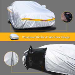 Zipper Waterproof Car Cover, Car Parking Cover, SUV Car Body Cover