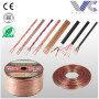 Customized OFC/CCA conductor car audio speaker cable