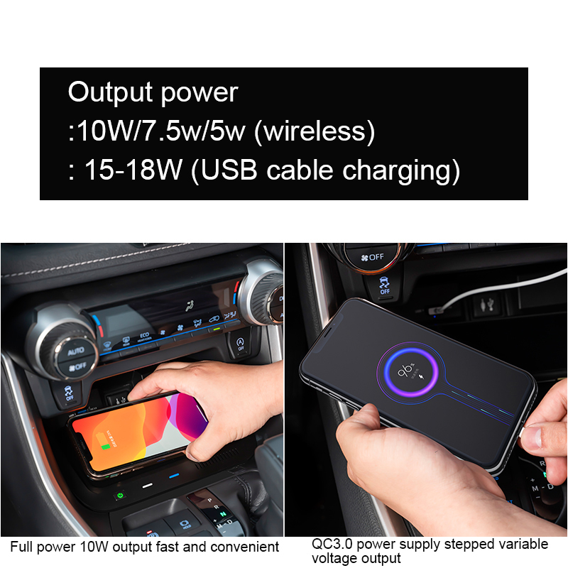 Automatic Car Mount Phone Wireless Charger Smart Car Mount Wireless Charger for Toyota Rav4 Rongfang Willanda