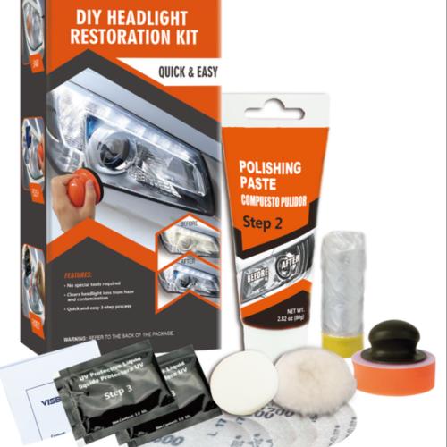 Manuel -DIY Headlight Restoration Kit Car Headlight Repair Tool
