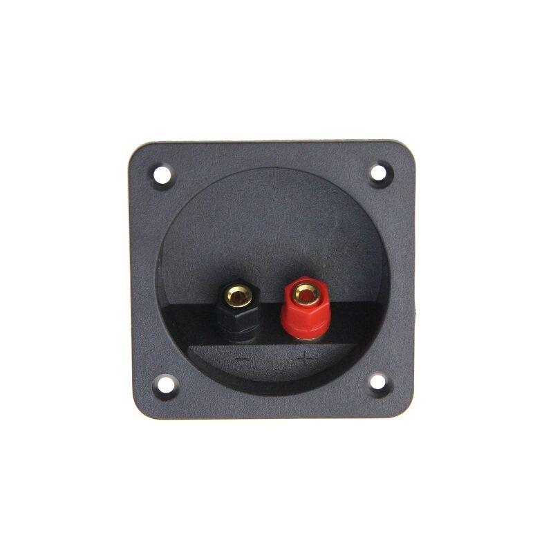 ABS copper  square speaker box binding post,Speaker box wiring terminal plate