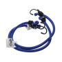 Factory best selling elastic bungee straps with Iron hooks/rubber rope bungee luggage leash