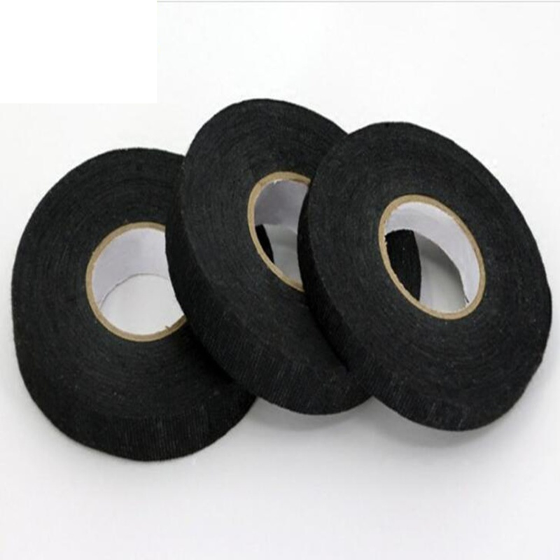 2020 New Arrival 19MM*15M Wire Harness Automotive Cloth Tape, High Temp Wire Harness Wrapping Tape