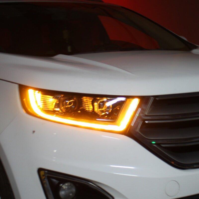 Streamer full LED high configuration headlamp assembly For 15-18 Model Edge