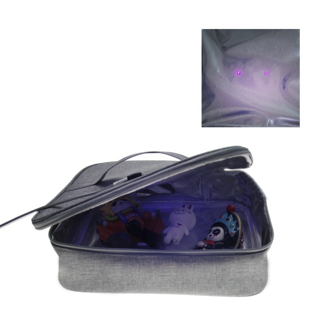 Factory Travel Household Portable Electric LED UV Multi-function Disinfection Box