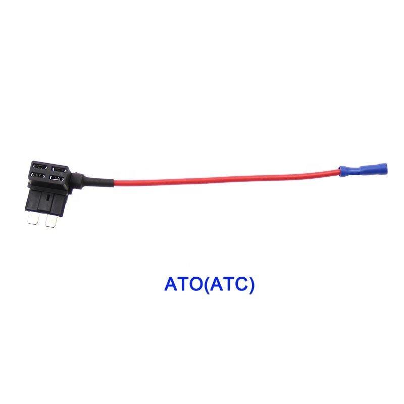 12V Mini Low Profile Mini ATC Micro Circuit Fuse TAP Adapter Fuse Holder