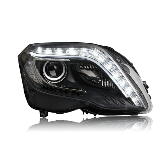 Full LED Car headlamp assembly for 13-15 Model Mercedes-benz GLK ,Headlights assembly