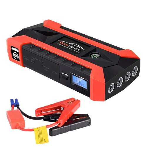 Auto Kit High Rechargeable Engine Power Charger Vehicle Jump starter with Alligator Clips