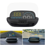 2020 New Product Auto Electronics 5'' OBD2 HUD With Reflective Plate Car Heads Up Display