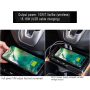 New auto car orignal installed qi car wireless charger for Handa CR-V(17-19 models)car wireless phone charger