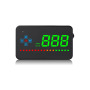 GPS HUD 3.5 inch head up display hud gps tracker led obd ii hud for car or bus with speed alarm