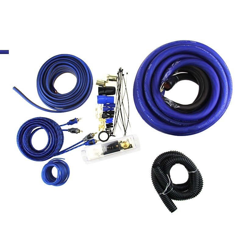 Heavy duty OFC 0 gauge  Amp Wiring Kit car audio wiring kit car installation wiring kit for car audio