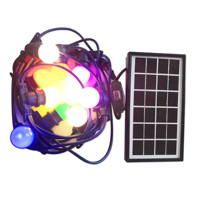 Solar Panel, LED Indoor/Outdoor String Lights Waterproof & Weatherproof Cafe/Bistro Lighting,Garden Porch Backyard Deck Party